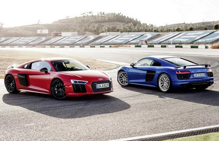 Автомобиль Audi R8 V10.