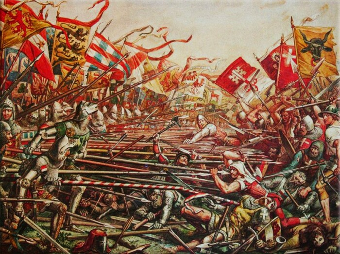 Противостояние было исключительно жестоким. |Фото: sputnikipogrom.com.