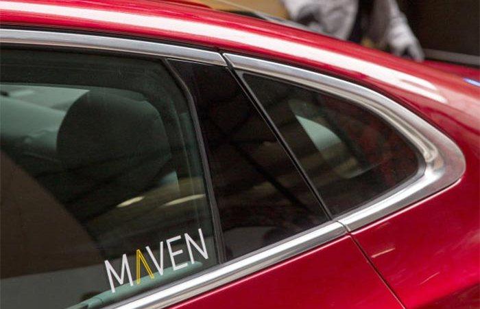 Маркер Maven на авто.