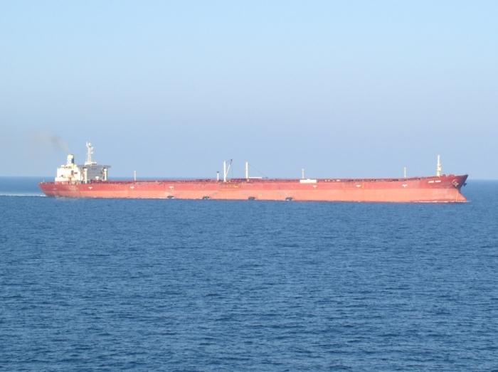 К сожалению судно Knock Nevis уже никуда не пойдет.