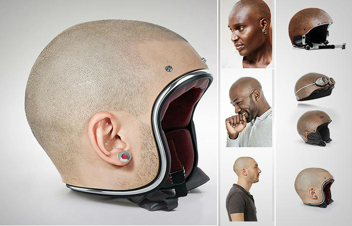 Оригинальные мотоциклетные шлемы Джона Мулюра.