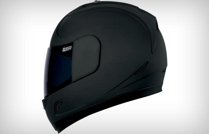 Элегантный шлем Icon Alliance Dark Helmet.