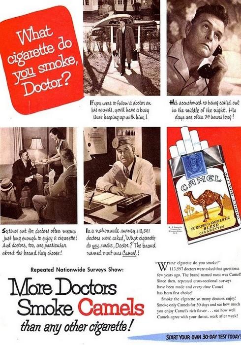 Сигареты Camel.