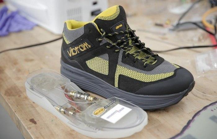 Перспективная инновационная обувная подошва.