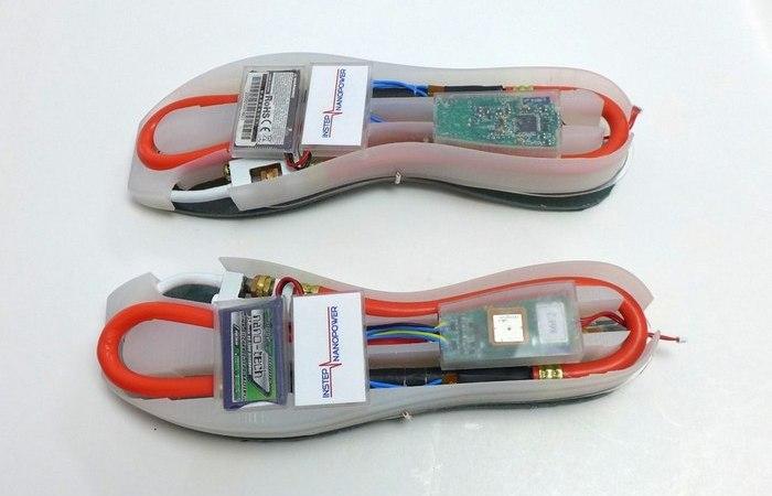 Инновационная обувная подошва.