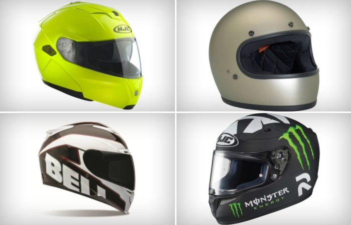 Лучшие мотоциклетные шлемы 2014 года.