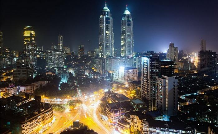 Мумбаи - финансовая столица Индии.