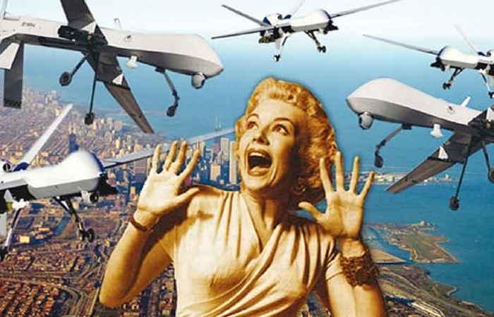Жужжащее засилие дронов.
