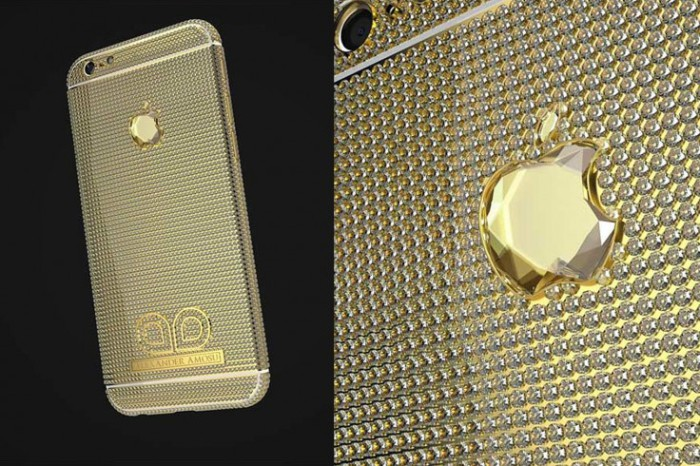 Diamond Studded iPhone 6.