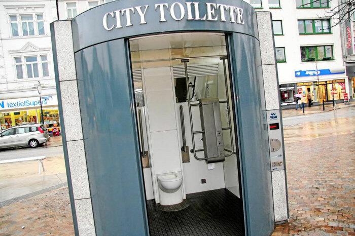 Туалеты Германии автоматизированы.  ¦Фото: islam.ru.