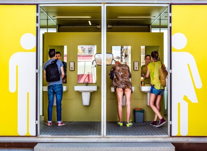 Здесь общественные туалеты бесплатные.  ¦Фото: ephotozine.com.