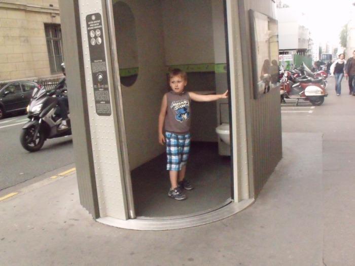 Самые коварные туалеты Европы. ¦ Фото: ya.ru.