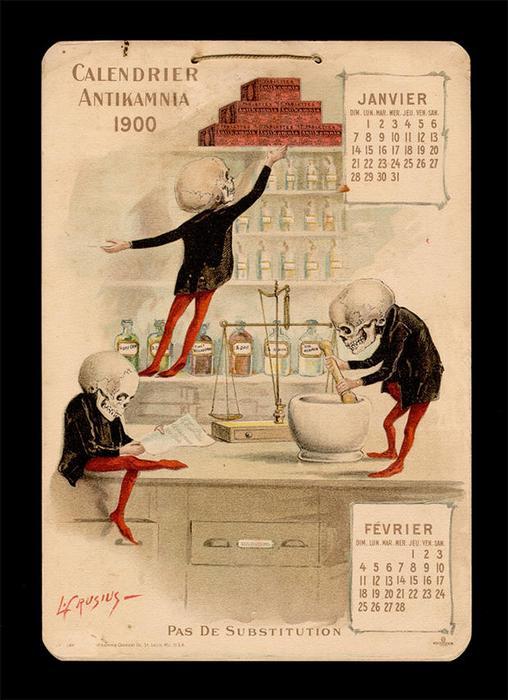 Иллюстрации художника Луи Крузиуса.