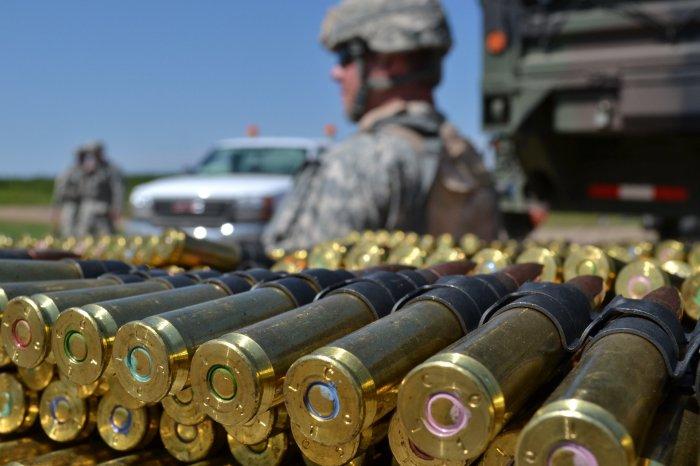 Патроны выдаются солдатам по ситуации. |Фото: avto.goodfon.ru.