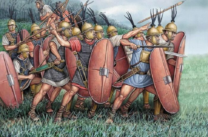 Во времена ранней Республики легионерам вообще не платили. |Фото: Pinterest.
