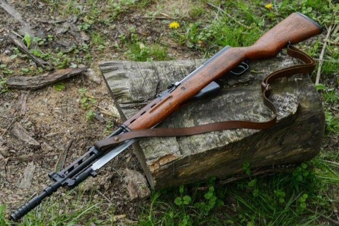 Создан карабин уже после войны. |Фото: goodfon.ru.