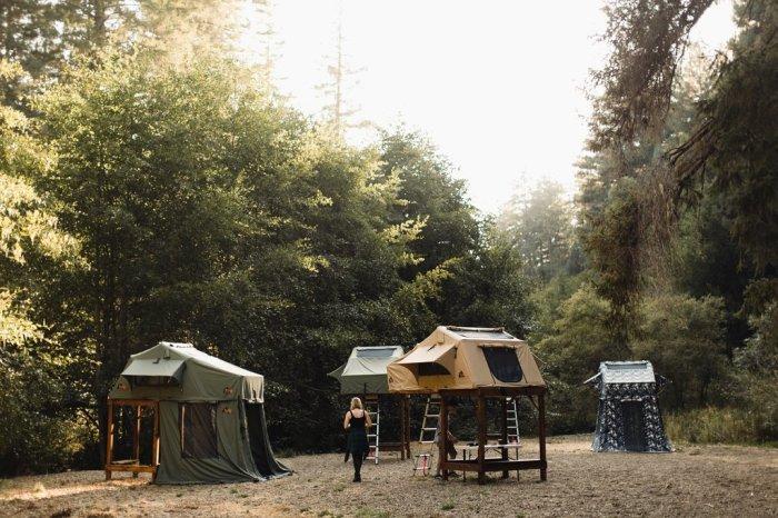 Небесный лагерь, залог отличного отдыха.