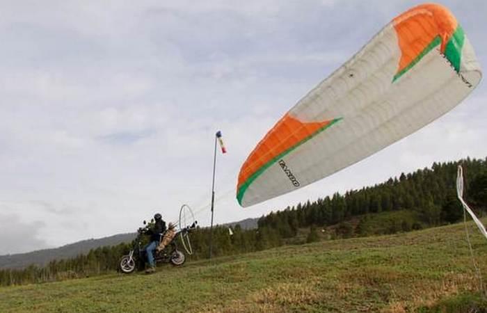 Электрический летающий скутер Skyrider One.