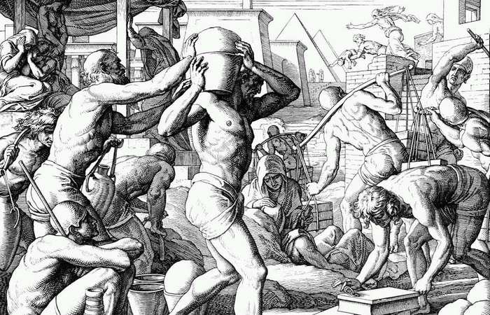 Бедные римские граждане владели лишь одним или двумя рабами.