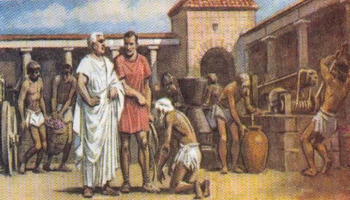 Спрос на рабов в Риме был очень высок.
