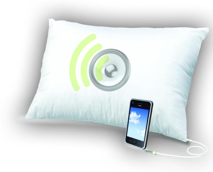 Музыкальная подушка Sound Asleep Pillow