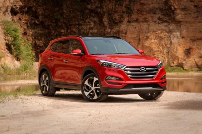 На лицо прекрасный Hyundai Tucson.