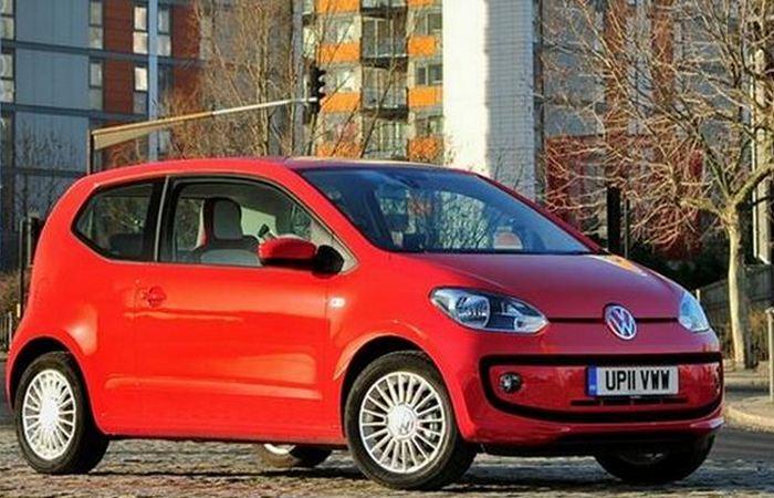 Автомобиль Volkswagen Up.