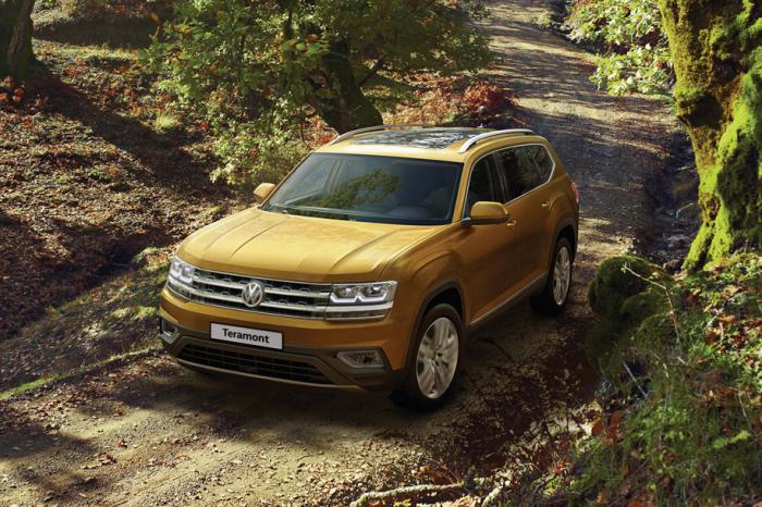 Новый Volkswagen Teramont не флагман, но такой большой.