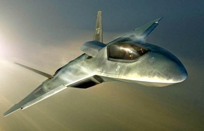 Новейший российский самолет.