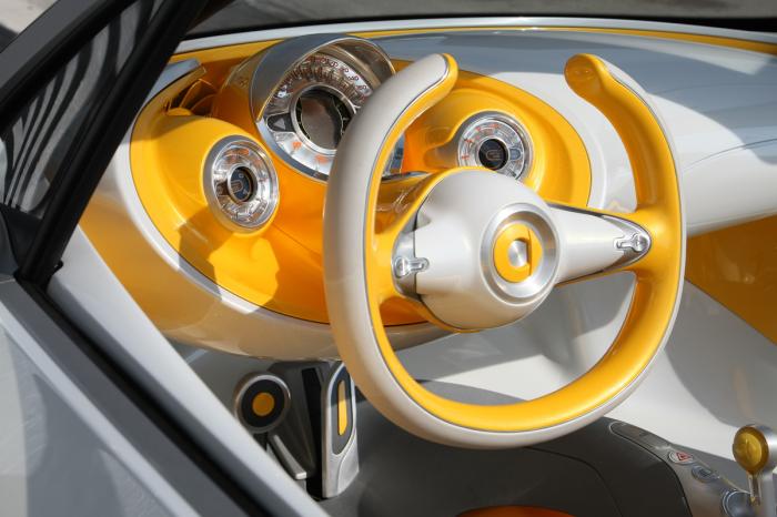 Руль и приборная панель Smart For-Us.