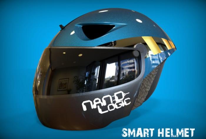 Шлем Nand Logic - система на одном кристалле.
