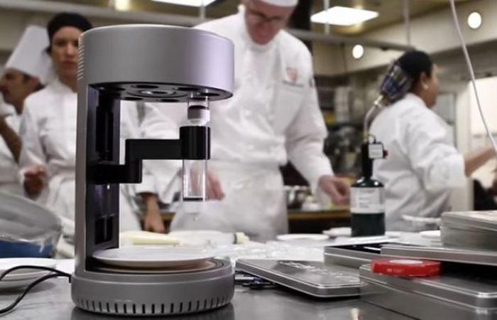 Пищевой 3D-принтер Hod Lipson.