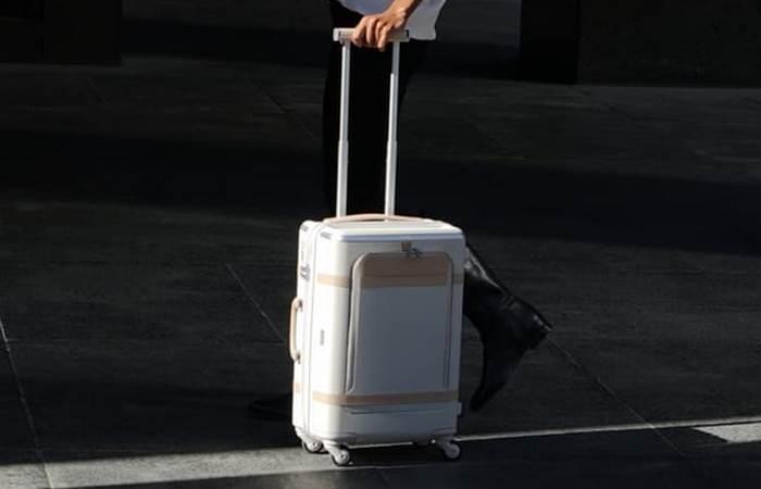 Умный чемодан в помощь путешественнику.