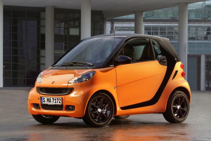 Smart Cdi: 3,3 литра на 100 км.