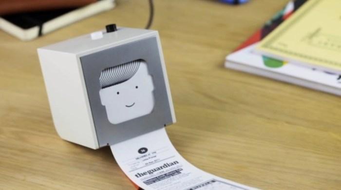 Маленький помощник в рутинных делах Little Printer.