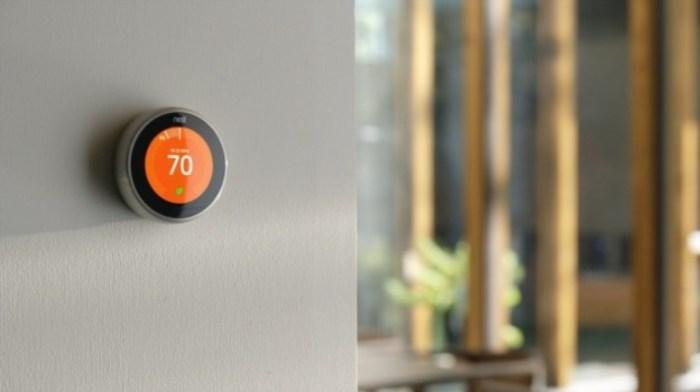 Nest проследит за температурой в доме.