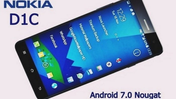 Смартфон Nokia D1С.
