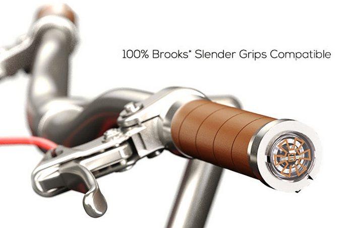 Умные велосипедные ручки.