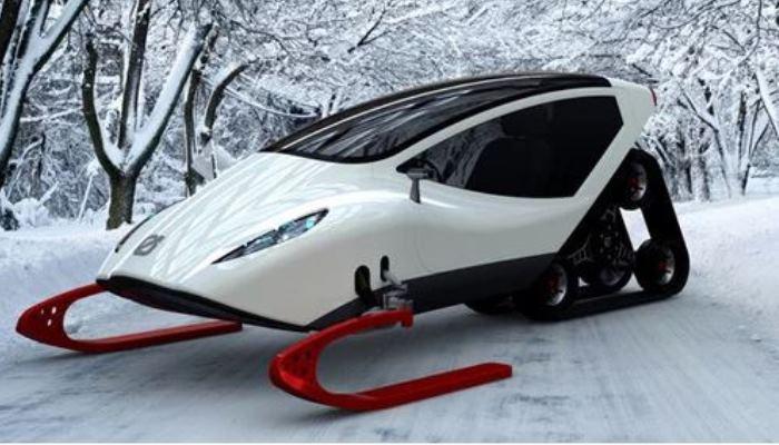 Транспорт для заснеженных дорог.