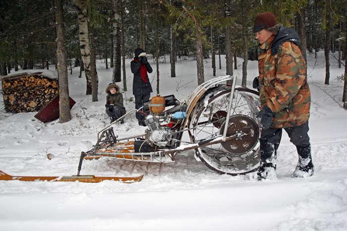 Транспорт для российских зим.