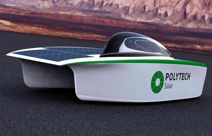 Новый отечественный солнцемобиль.
