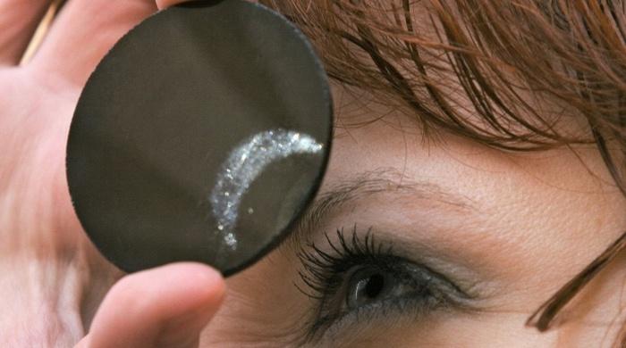 eclipse solar: proteção para os olhos.