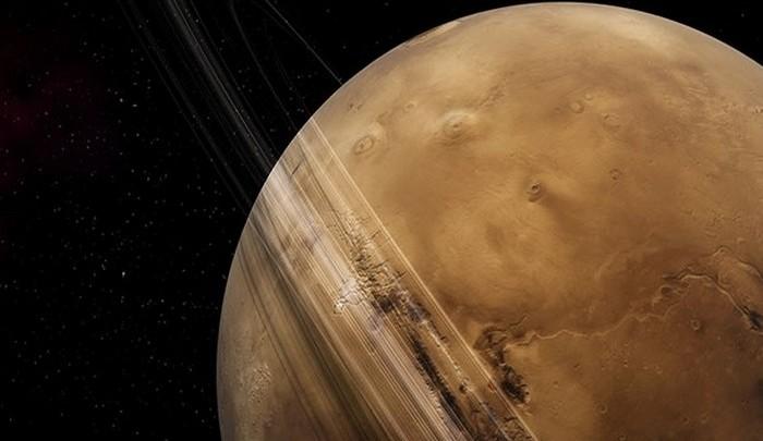 Фобос вращается быстрее Марса.