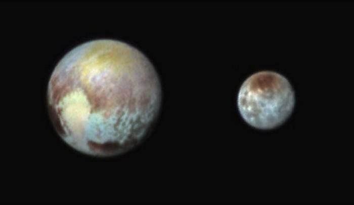Плутон - Харон.