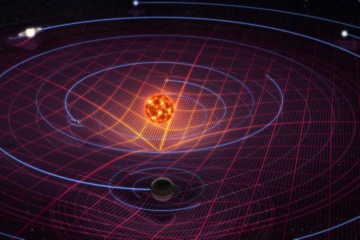 Солнечная система: солнечная гравитация.