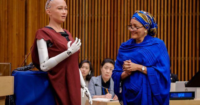 Ранее София выступила в ООН.
