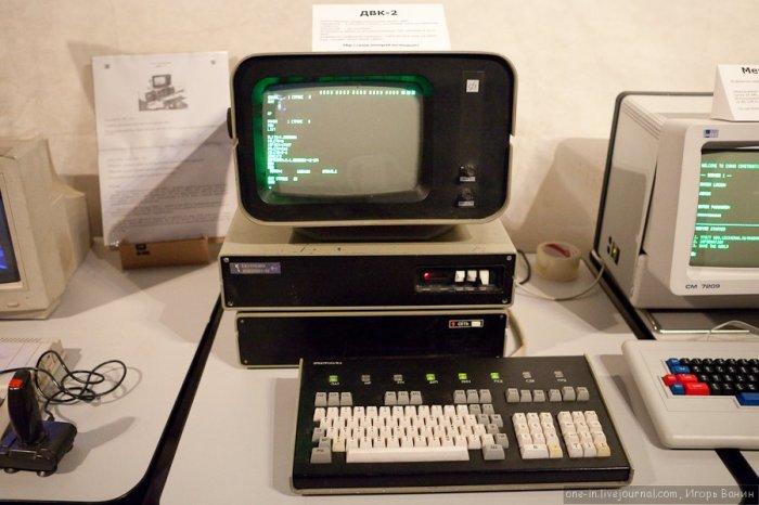Советский персональный компьютер ЭВМ ДВК-2.