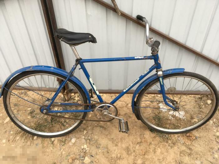 Знатный литовский велосипед.  Фото: auction.ru.