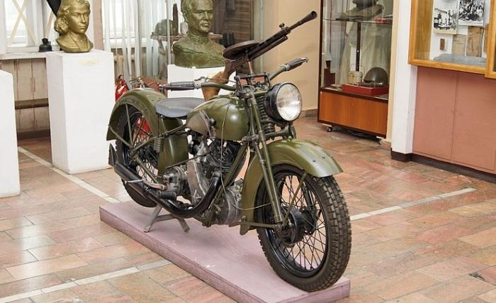 Использовался во время войны.