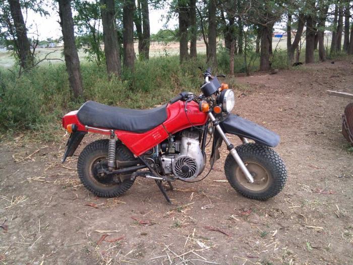 Первый внедорожны мотоцикл.